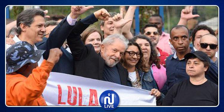 Libération de l'ex-président brésilien: Lula a des projets de mariage