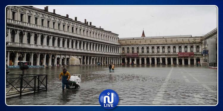 Menace sur Venise : une montée des eaux historique…(photos)