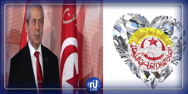 L'UGTT et l'hommage à Mohamed Ennaceur