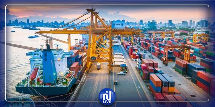 Les exportations tunisiennes en baisse de 4,5%