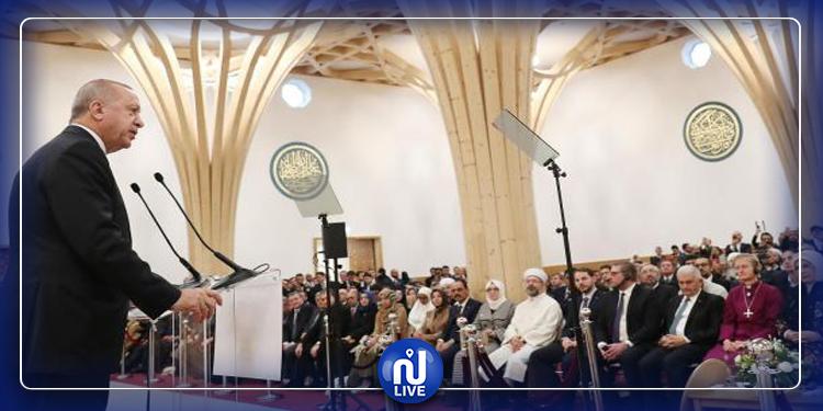 Erdogan à l'inauguration de la première mosquée écologique d'Europe (photo)