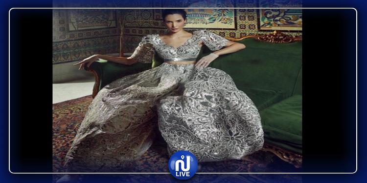 Le mannequin Hanaa Ben Abdesslem se marie en ''Keswa'' tunisienne
