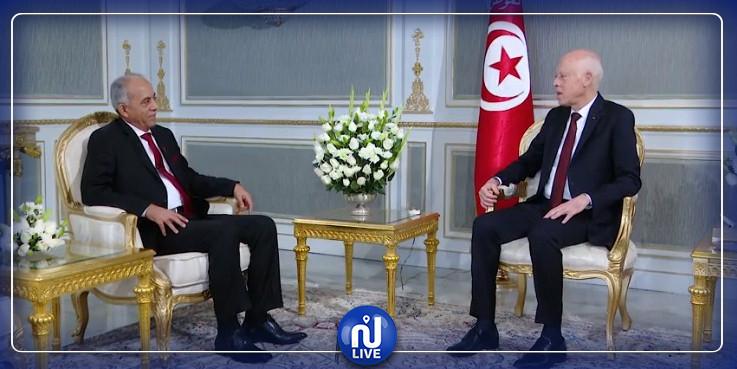 Kais Saïd reçoit Habib Jemli après le rejet de son gouvernement