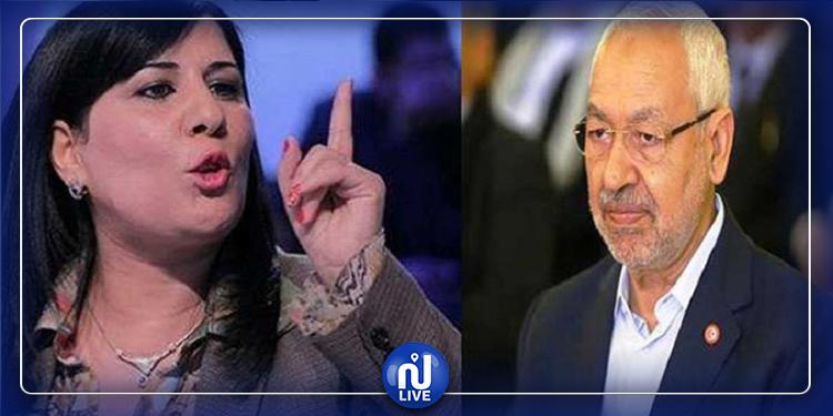 ARP : Levée de la séance plénière pour tension entre Abir Moussi et Ghannouchi