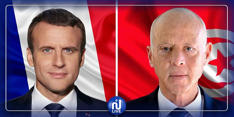 Emmanuel Macron appelle Kais Saïd, au téléphone