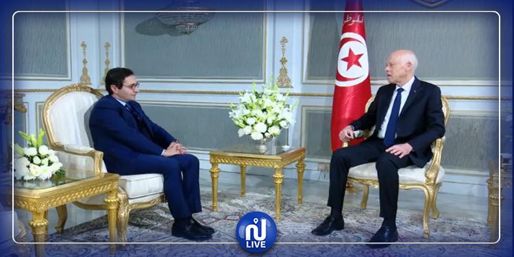 Kais Saïd reçoit le candidat à la Primature, Fadhel Abdelkéfi