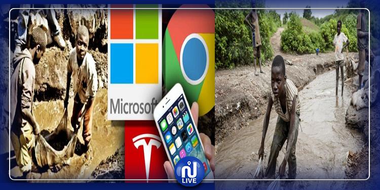 Mort  d'enfants du cobalt : Apple, Google, Tesla, Microsoft accusés (vidéo)