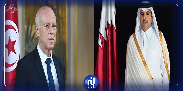 L'Emir du Qatar en visite officielle en Tunisie…