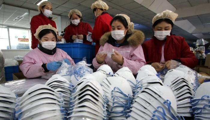 Corona: La Chine peut fabriquer jusqu'à 20 millions de masques par jour...
