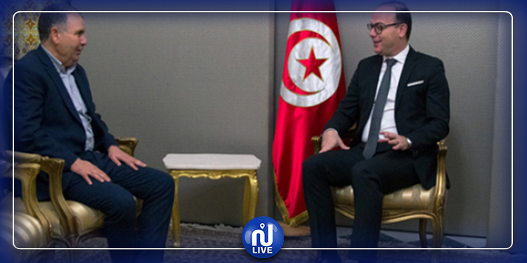 Noureddine Taboubi rencontre Elyes Fakhfakh