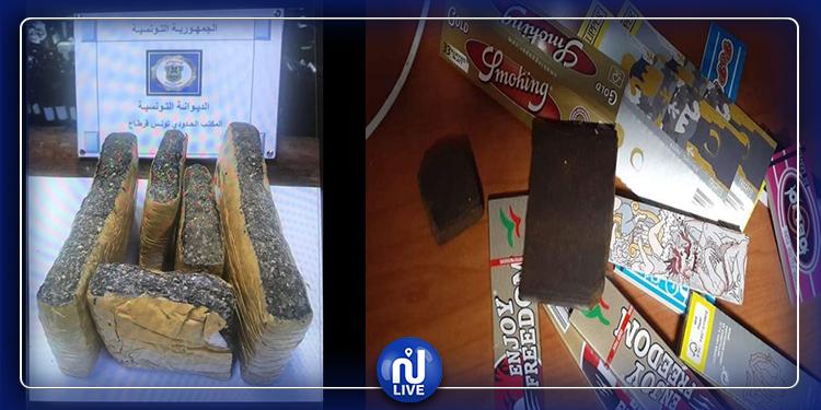 Mise en échec d'une contrebande de marijuana à Tunis-Carthage