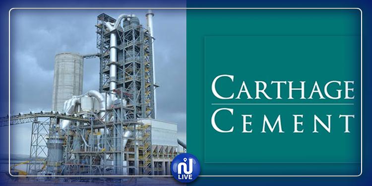 Carthage Cement exporte vers l'Europe, en mars 2020