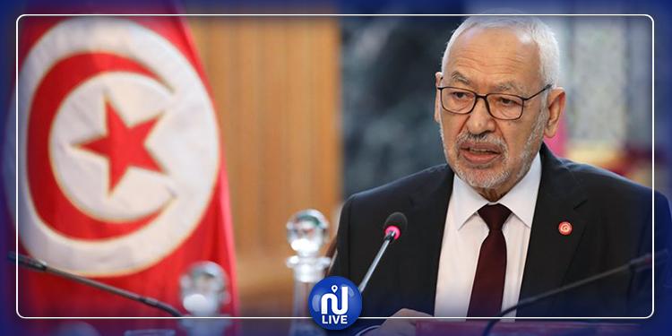 Ghannouchi : Ennahdha n'est pas pour la dissolution de l'ARP