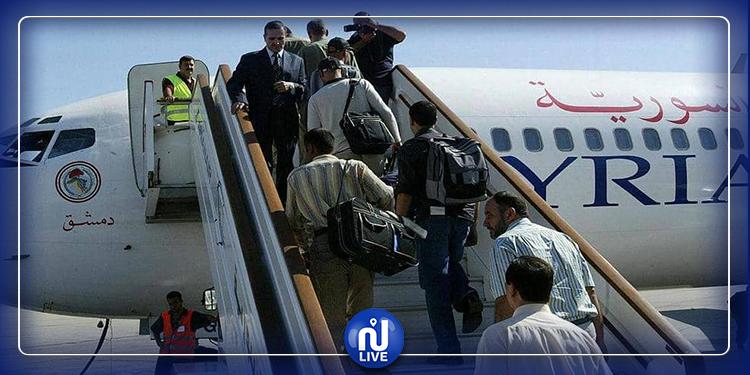 Pour la première fois en 8 ans ... un vol a décollé de Damas vers Alep