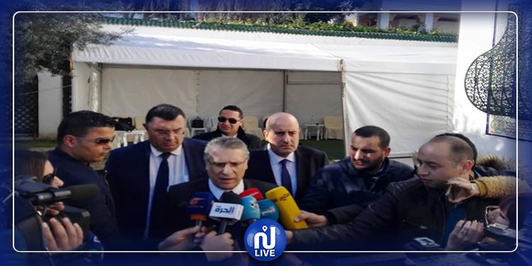 Nabil Karoui parle de la rencontre avec Elyes Fakhfakh à Dar Dhiafa