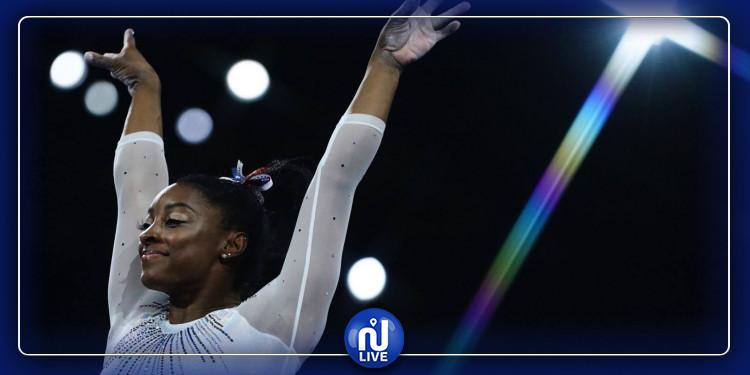 La gymnaste Simone Biles élue meilleure sportive de l'année