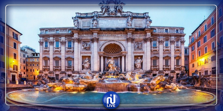 Rome construira une barrière autour de la fontaine de Trevi