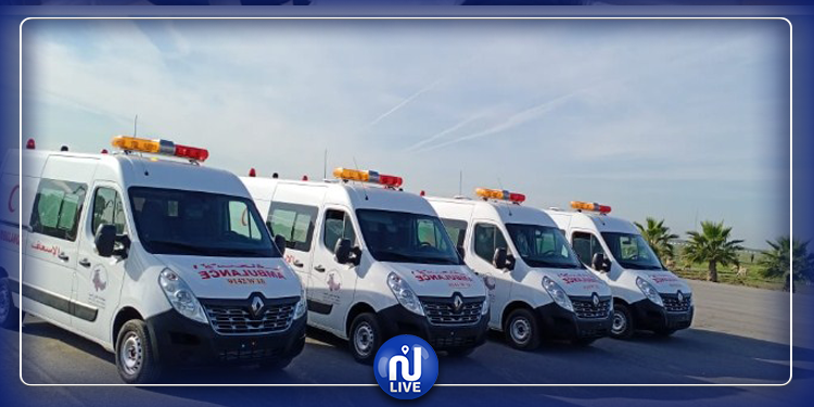 Renault au Maroc : 50 véhicules neufs transformés en amulances