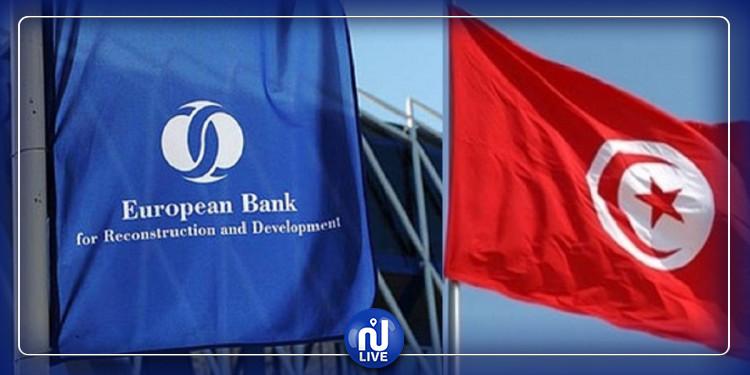 La BERD  décaisse 400 millions d'euros pour la Tunisie