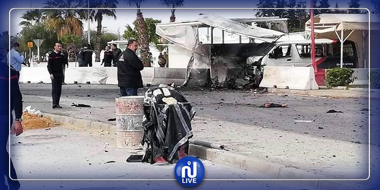 Attentat-suicide/ambassade des USA : les photos de l'opération