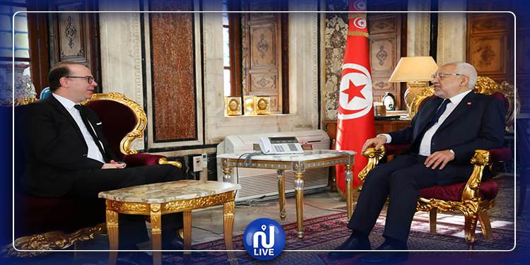 Rencontre Ghannouchi-Fakhfakh avant la séance plénière
