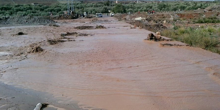 القصرين: فيضان وادي البرك بمعتمدية العيون يتسبب في وفاة مواطن