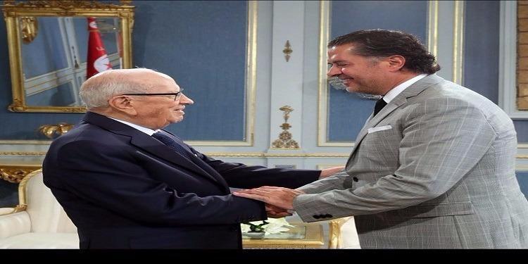 راغب علامة : ''إنه لشرف عظيم لقائي بالوالد الكبير للشعب التونسي الحبيب''