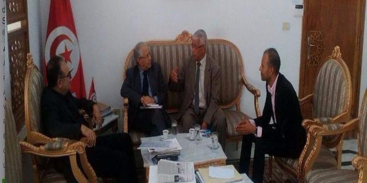 وضع برنامج الشراكة بين وزارة الشؤون الاجتماعية ومهرجان الحوض المنجمي بقفصة