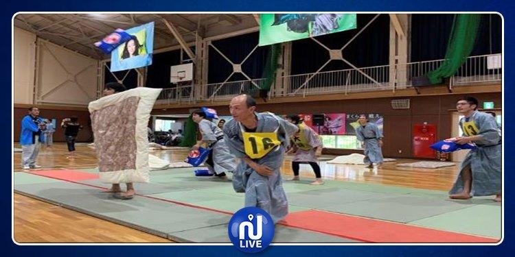 'معركة الوسائد'.. ابتكار جديد في اليابان
