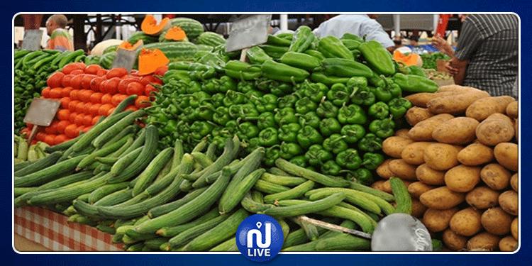 وزارة التجارة:  تراجع أسعار الخضر والغلال واللحوم مقارنة مع بداية شهر رمضان