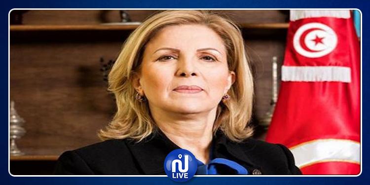 سلمى اللومي تستقيل من رئاسة الديوان الرئاسي