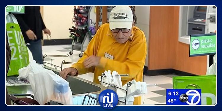 عجوز الـ97 عاما يرفض التخلّي عن العمل (فيديو)