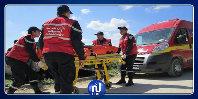 النفيضة : إصابة 8 عملة بجروح في حادث مرور