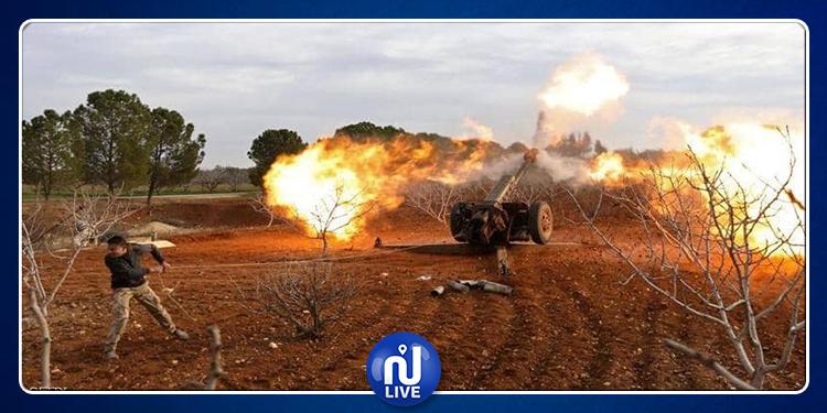 مقتل 12 مدنيا في قصف صاروخي على حلب