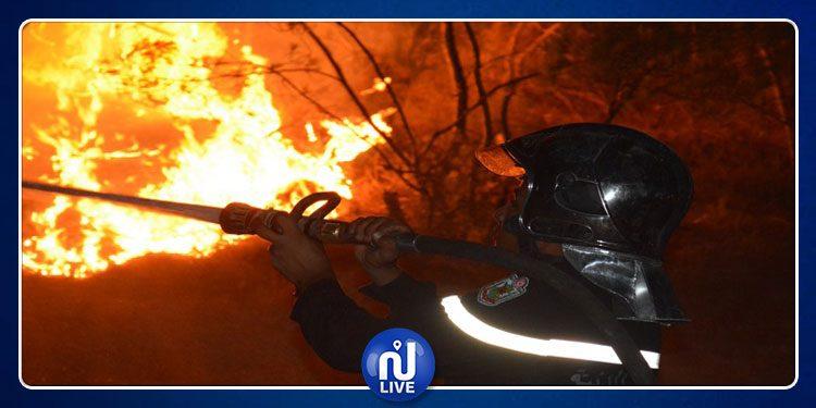La Protection civile en campagne contre les incendies