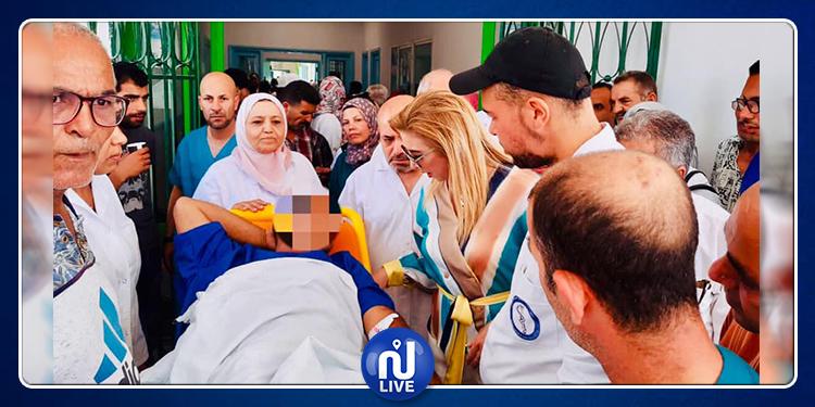 مستشفى أريانة: وزيرة الصحّة بالنّيابة تطلع على الحالة الصحيّة لعونين تعرضا للطعن
