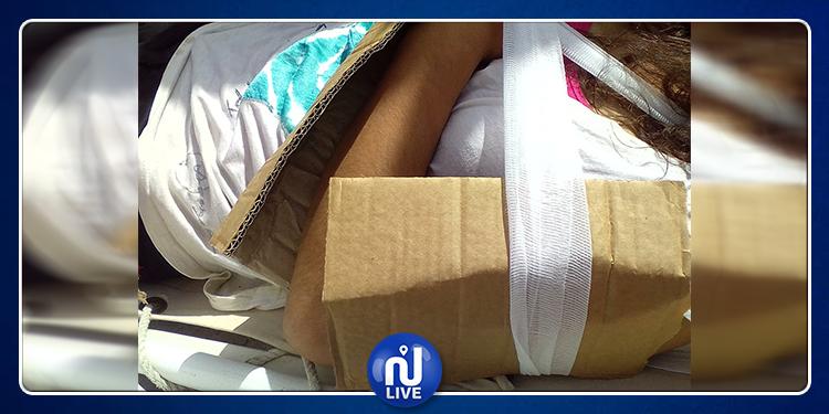 يحدث في القيروان .. ''كرذونة'' تعوض ''الجبيرة'' في معالجة فتاة مصابة بكسر! (صور)