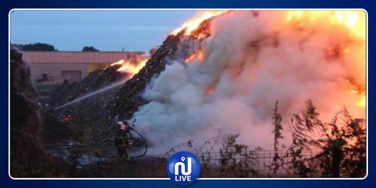 حريق مصب برج شاكير..دعوة للتحقيق في ملفات فساد بوزارة البيئة