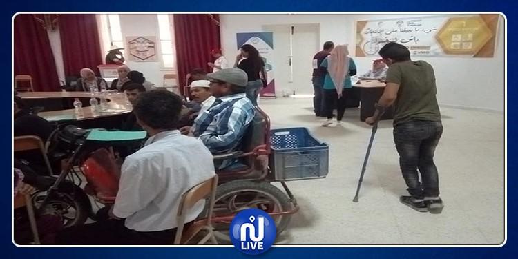 السبالة: يوم تحسيسي لتشجيع ذوي الاحتياجات الخصوصية على المشاركة في الانتخابات