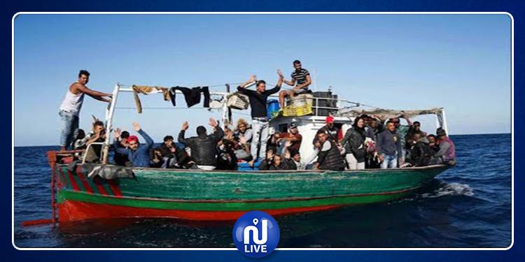 1019 مهاجرا غادروا تونس خلال 2019