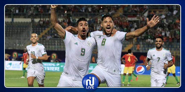 CAN 2019 : l'Algérie passe en quart de finale
