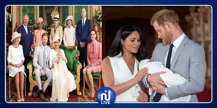 تعميد نجل الأمير هاري وزوجته ميغان