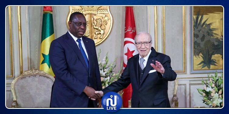 رئيس السنغال: 'تونس فقدت اليوم أب الاستقلال' (صور)