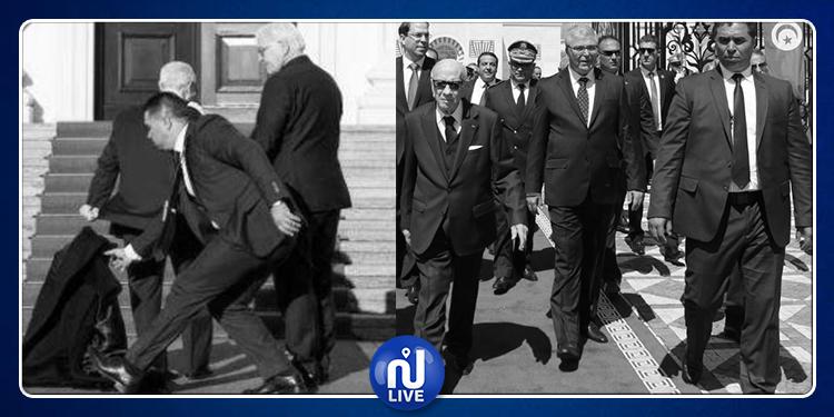 الأمن الرئاسي ينعى الرئيس الراحل:  ''لن نتركك تسقط من الذاكرة'' (صور)