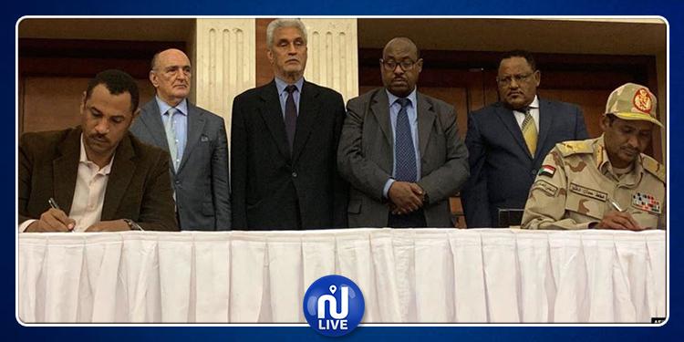 السودان:  توقيع اتفاق سياسي بين قوى التغيير والمجلس العسكري
