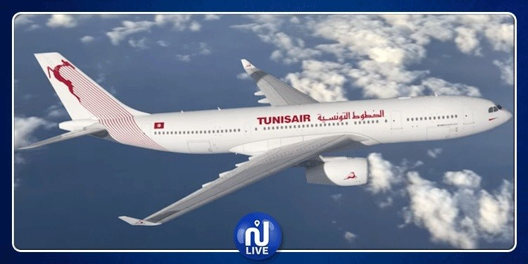 Baisse du nombre des passagers transportés par Tunisair
