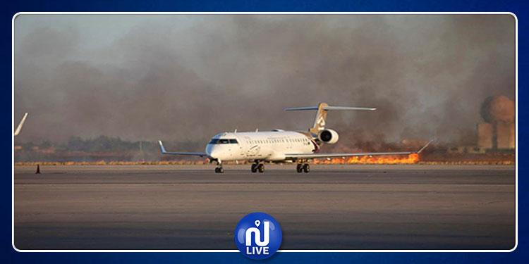 ليبيا : مطار زوارة الدولي يتعرّض للقصف مجددا
