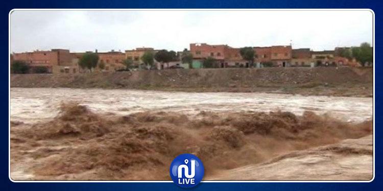 القصرين:  إرتفاع منسوب المياه بعدد من الأودية ولجنة مجابهة الكوارث تحذّر