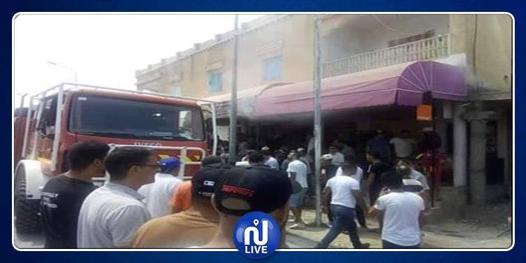 Tajerouine : L'incendie d'une boulangerie fait 4 blessés