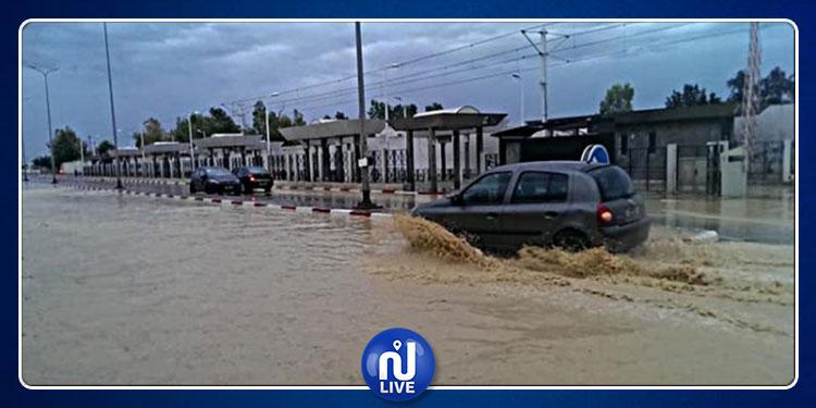 منوبة: شفط المياه من 8 منازل جراء الفيضانات